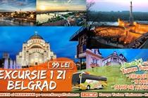 Excursie de primavara 1 zi(Sambata 31 Martie) la Belgrad - 99 Lei/loc(Plecare din Timisoara)