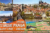 Excursie MINUNATA LA Praga 4 zile(Joi:3.05 - Duminica:06.05.2018) - 175 Eur - Plecare din Timisoara si Arad