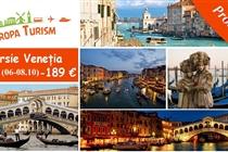 Excursie de VIS la Venetia 3 zile(6-8 Octombrie 2017)  189 Eur/loc
