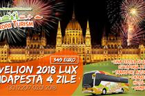 Revelion de LUX la Budapesta 4 zile(30.12 - 02.01) - 349 CU CINA FESTIVA DE REVELION CU VAPORUL PE DUNARE(VANDUT)