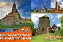 Pe urmele lui Jules Verne în Țara Hațegului •  Excursie 1 zi • Sambata 31 August • 139 Lei • Plecare din Timisoara