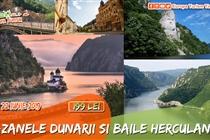 Circuit Baile Herculane & Cazanele Dunării (Sambata 22 Iunie) - 199 Lei
