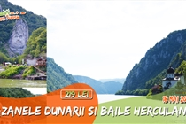 Circuit Baile Herculane & Cazanele Dunării (Sambata 18 Mai) - 219 Lei. CROAZIERA SURPRIZA PE DUNARE 3 ORE CU VAPORUL
