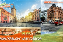 Circuit de VIS la Praga • Praga • Dresda • Karlovy Vary • 4 zile (25-28 Iulie) • 199 Eur