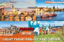 Circuit Praga • Dresda • Karlovy Vary • 4 zile (29 August - 1 Septembrie) • 189 Eur