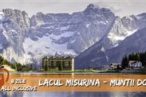 Concediu de VIS la munte in Italia (Lacul Misurina - Muntii Dolomiti) - 8 zile - 699 Eur - Cazare 7 nopti in hotel 4*+ All Inclusive + transport