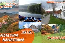 Excursie 1 zi TransAlpina Banateana - Sambata 24 August - 150 Lei. REDUCERE 20%.ACUM 125 LEI. Plecare din Timisoara