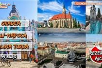 Excursie 2 zile • Oradea • Cluj-Napoca • Salina Turda • Sambata 17 Octombrie - Duminica 18 Octombrie • 99 Eur. Plecare din Timisoara si Arad