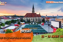 Excursie 2 zile • Oradea • Cluj-Napoca • Salina Turda • Sambata 12 Iunie - Duminica 13 Iunie • 99 Eur. Plecare din Timisoara si Arad
