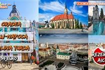 Excursie 2 zile • Oradea • Cluj-Napoca • Salina Turda • Sambata 29 August - Duminica 30 August • 99 Eur