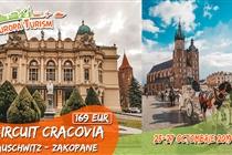 Excursie 3 zile la Cracovia (25-27.10) - 169 Eur
