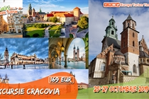 Excursie 3 zile la Cracovia (25-27.10) •  169 Eur