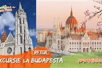Excursie de LUX la Budapesta 2 zile (20 Aprilie - 21 Aprilie 2019) - 89 Eur