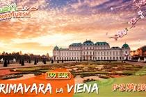 Primavara la Viena  • Excursie 2 zile (11-12 Mai) - 139 Eur
