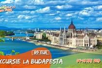 Excursie de Primavara la Budapesta 2 zile (4 Mai - 5 Mai 2019) - 89 Eur