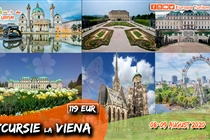 Excursie de VARA 2 zile la Viena (Sambata 8 August - Duminica 9 August) - 119 Eur