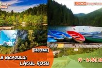 Excursie de VIS • 3 zile • Cheile Bicazului • Lacul Rosu • Vineri 21 Mai -  Duminica 23 Mai - 149 Eur. Plecare din Timisoara si Arad