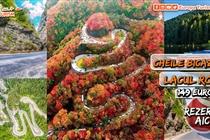 Excursie de VIS • 3 zile • Cheile Bicazului • Lacul Rosu • Vineri 16 Octombrie - Duminica 18 Octombrie - 149 Eur