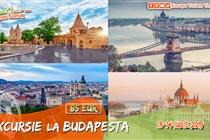 Excursie de VIS la Budapesta 2 zile • Sambata 13 Iulie •  Duminica 14 Iulie • 85 Eur