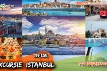 Excursie de VIS la Istanbul - 5 zile (17.02 - 21.02) 2020 - 199 Eur. Plecare: Timisoara/Arad/Lugoj/Caransebes/Orsova/Drobeta Turnu Severin.