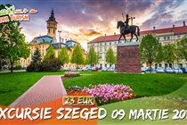Excursie la Szeged 1 zi (Sambata 09.03.2019) - 23 Eur - Program turistic cu ghid+sesiune shopping la Tesco. Plecare din Timisoara si Arad
