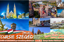 Excursie la Szeged 1 zi (Sambata 26.01.2019) - 99 Lei - Program turistic cu ghid+sesiune shopping la Tesco. Plecare din Timisoara si Arad