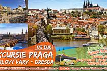 Excursie MINUNATA LA Praga 4 zile(26.07 - 29.07.2018) - 175 Eur - Plecare din Timisoara si Arad