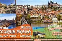 Excursie PROMOTIONALA (DOAR ODATA PE AN) 4 ZILE (31.01 - 03.02) LA PRAGA - 129 Eur