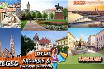 Excursie Szeged 1 zi (Sambata 11 Aprilie) - 125 Lei - Program turistic cu ghid + sesiune shopping la Tesco