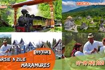 Excursie UNICĂ in Maramures 3 zile ( Vineri 7 Mai - Duminica 9 Mai) - 159 Eur