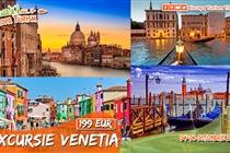 Excursie Venetia • 3 zile (4-6 Octombrie) • 199 Eur  Plecare din Timisoara si Arad
