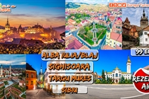 Promoție ! Noutate Absolută • Excursie  2 zile la Alba Iulia • Blaj •Târgu Mureș • Sighișoara • Sibiu • 21-22 noiembrie • 99 Eur
