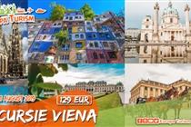 REDUCERE 28% ! • Excursie de VIS 2 zile la Viena (10 - 11 August) • 165 Eur • REDUCERE 28% • ACUM 129 Eur. Plecare din Timisoara si Arad