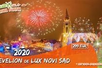 Revelion de LUX la Novi Sad (Serbia) • 399 Eur • ACUM PROMOTIE (PLATA INTEGRALA) 10 LOCURI la DOAR  299 Eur