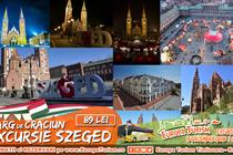Excursie & Targ de Craciun Szeged 1 zi (Sambata 15.12) - 89 Lei