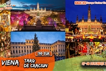Târg Crăciun la Viena • 2 zile (Sâmbată 07.12 - Duminică 08.12) • 139 Euro • Plecare din Timisoara si Arad