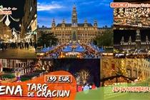 Targ Crăciun Viena 2 zile (23-24.11) - 139 Euro