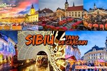 Târgul de Crăciun de la Sibiu si Sighisoara - 2 zile (Sambata 7- Duminica 8 Decembrie) - 119 Eur