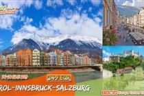 Vacanță în Tirol • Austria • 4 zile( 24-28 Iulie) • 249 Eur.  Plecare din Timisoara si Arad