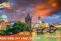 Circuit de VIS la Praga • Praga • Dresda • Karlovy Vary • 4 zile (20-23 Iunie) • 199 Eur